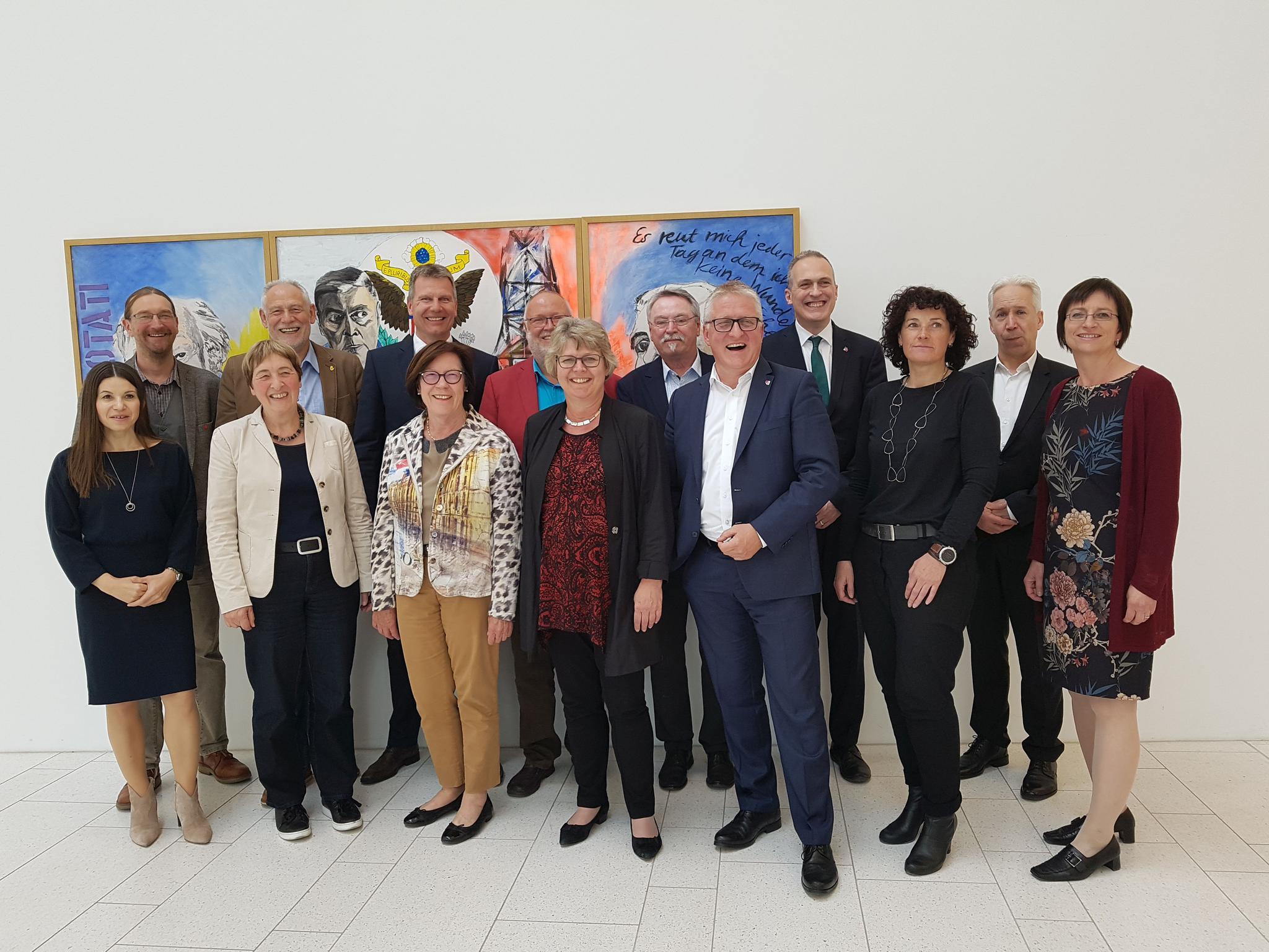 Treffen DGB-Gewerkschaften und BBW Beamtenbund