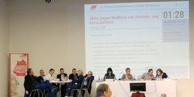 Antragskommission beschließt Anträge auf der Konferenz