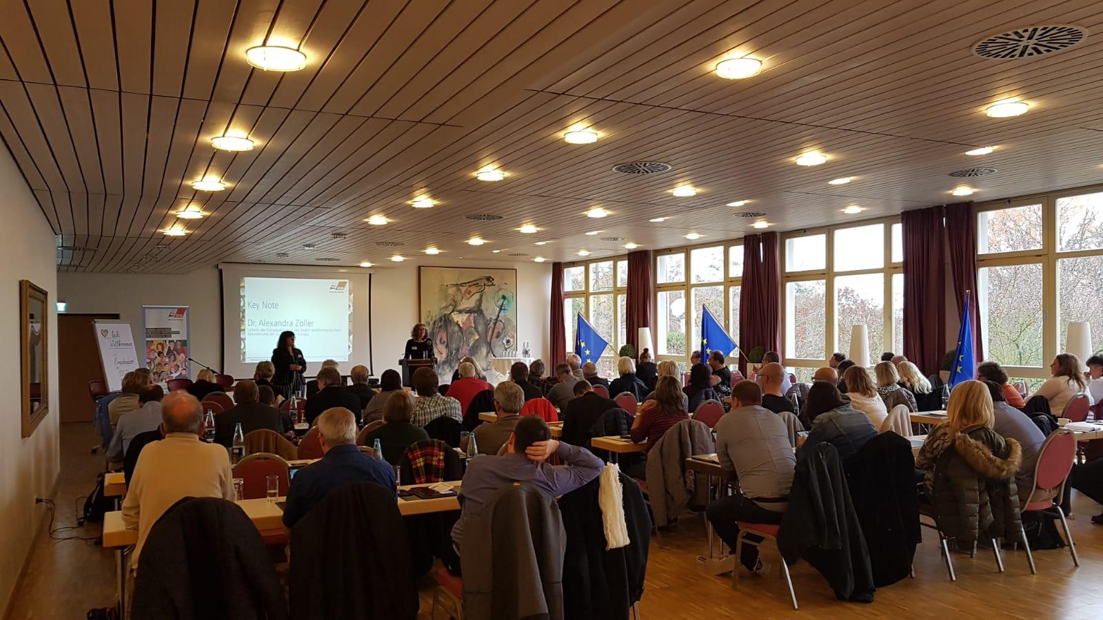 Europa-Konferenz DGB Baden-Württemberg, 15.11.2018 in Durbach