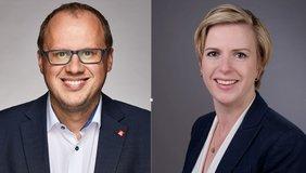 Kai Burmeister und Maren Diebel-Ebers