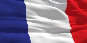 Französische Flagge / Fahne