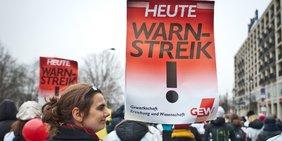 Streik im Öffentlichen Dienst GEW