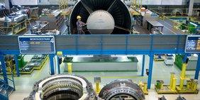 Montage bei Siemens