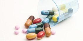 Pillen und Tabletten