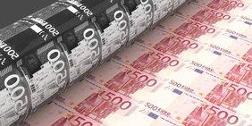 500-Euro-Scheine werden gedruckt