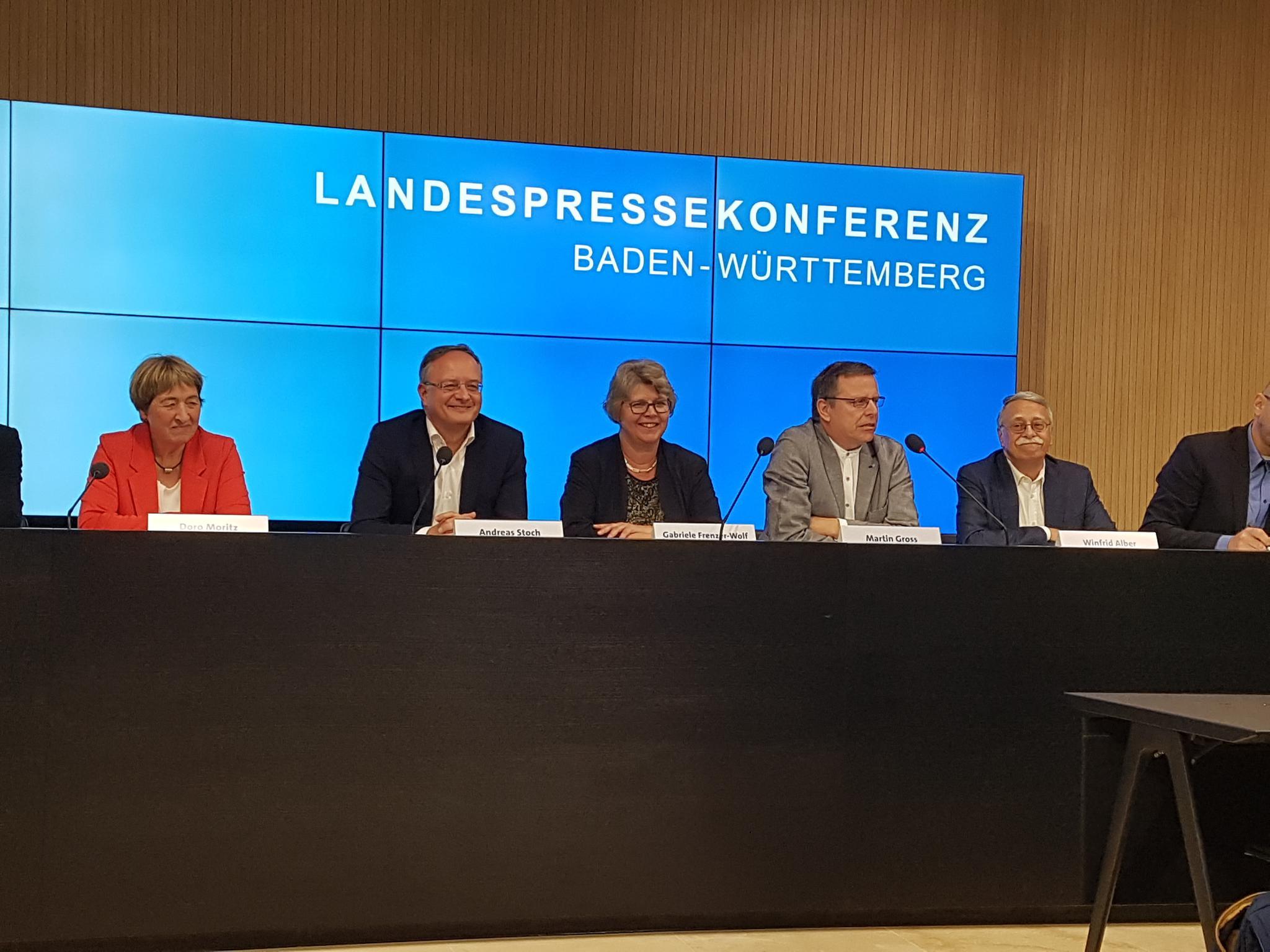 Landespressekonferenz zur Vorstellung Kita-Bündnis