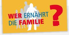 DGB-Logo: Wer ernährt die Familie