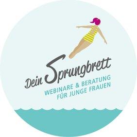DGB-Logo: Dein Sprungbrett – Webinare und Beratung für junge Frauen