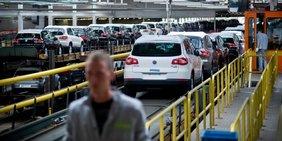 Autoproduktion bei Volkswagen