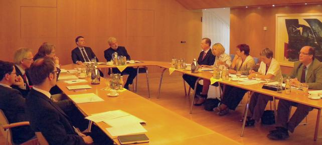 2. Verhandlungsrunde MFW DGB