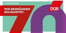 Logo 70 Jahre DGB